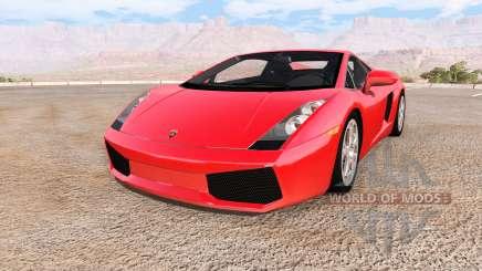 Lamborghini Gallardo 2005 para BeamNG Drive