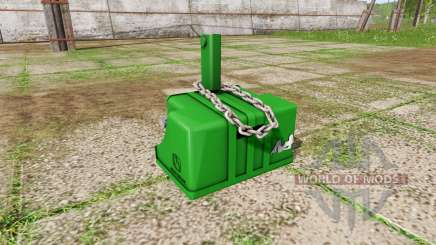 Weight John Deere para Farming Simulator 2017