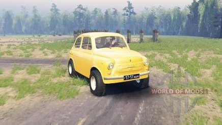 ZAZ 965 Zaporozhets v1.2 para Spin Tires