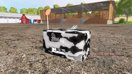 Weight v1.1 para Farming Simulator 2015