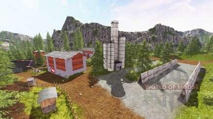 Los Alpes de Zillertal v2.0 para Farming Simulator 2017