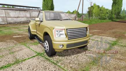Lizard Pickup TT single cab dually para Farming Simulator 2017