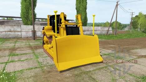 Caterpillar D7R v1.1 para Farming Simulator 2017