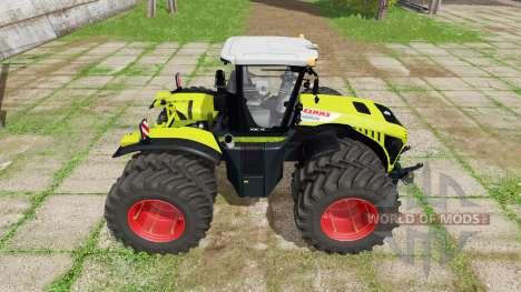 CLAAS Xerion 5000 v1.1.8 para Farming Simulator 2017