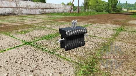 Weight para Farming Simulator 2017