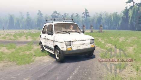 Fiat 126p para Spin Tires