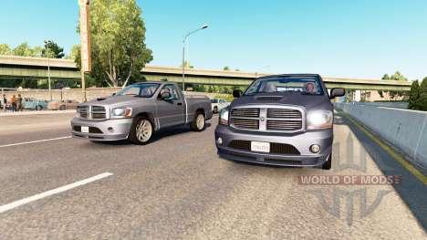 AI traffic v2.7 para American Truck Simulator