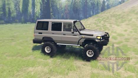 Toyota Land Cruiser 70 v3.01 para Spin Tires
