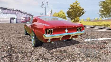 Ford Mustang 1965 v2.0 para Farming Simulator 2013