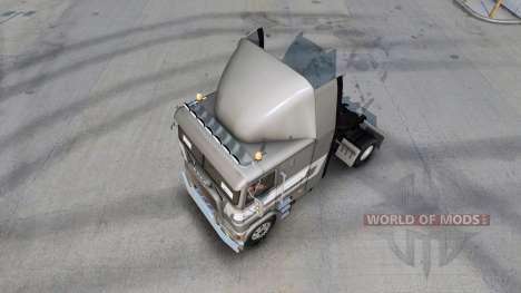 Скин de Primera clase metálico на Freightliner F para American Truck Simulator