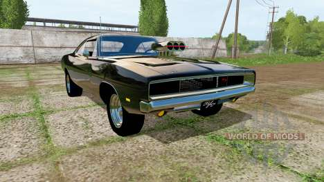 Dodge Charger RT (XS29) 1970 para Farming Simulator 2017