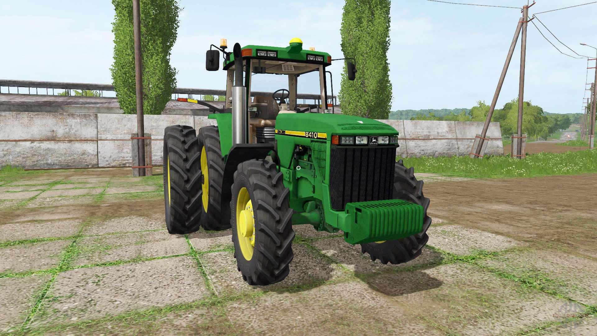 John deere 8410 v1 0 1 para farming simulator 2017 for 8410 3