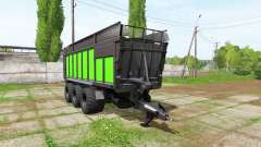 JOSKIN DRAKKAR 8600 black and green para Farming Simulator 2017