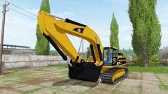 Caterpillar 345B LME para Farming Simulator 2017
