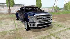 Ford F-350 Super Duty Crew Cab 2016 para Farming Simulator 2017