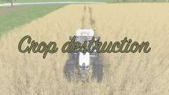 Crop destruction para Farming Simulator 2017