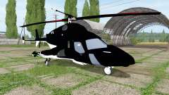 Bell-222 Airwolf para Farming Simulator 2017