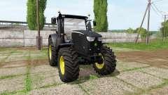 John Deere 6230R black