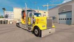La piel de Nuevo México en el camión Kenworth W9