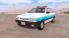 Fiat Uno hungarian police