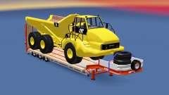 Semitrailer Caterpillar 740