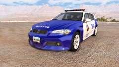 ETK 800-Series chinese police v2.5 para BeamNG Drive
