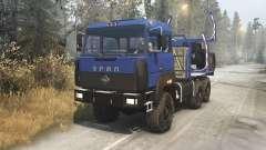 Ural 4320-3111-78 v1.3 para Spin Tires