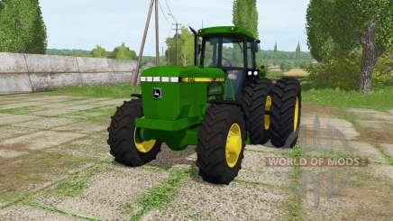 John Deere 4560 v1.2 para Farming Simulator 2017