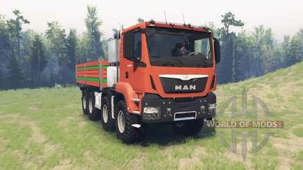 MAN TGS 41.480 v1.1 para Spin Tires