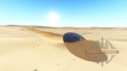 Ghosts desert v2.0.2 para BeamNG Drive