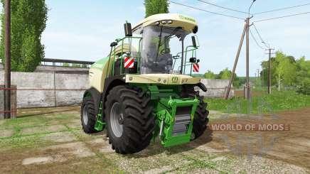 Krone BiG X 580 dynamic hoses para Farming Simulator 2017