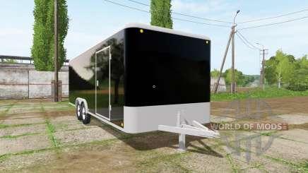 Enclosed trailer para Farming Simulator 2017