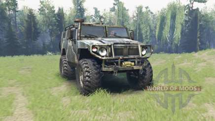 GAS 2330 Tigre para Spin Tires