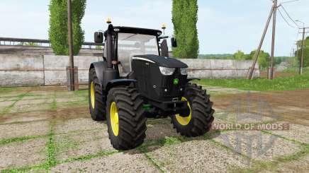 John Deere 6230R black para Farming Simulator 2017
