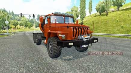 Ural 43202 v3.5 para Euro Truck Simulator 2