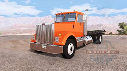 Gavril T-Series rollback flatbed tow truck para BeamNG Drive