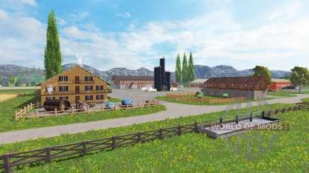 District of Breisgau v1.4 para Farming Simulator 2015