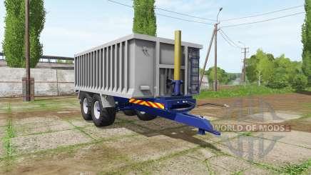 Aluminum trailer para Farming Simulator 2017