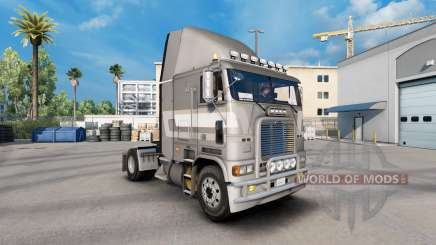 Скин de Primera clase metálico на Freightliner FLB para American Truck Simulator