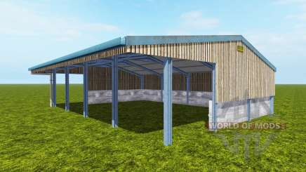 Vehicle shelter para Farming Simulator 2017