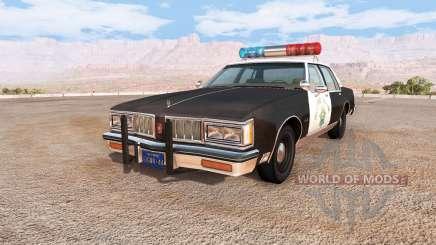 Oldsmobile Delta 88 cop pack v1.5.1 para BeamNG Drive