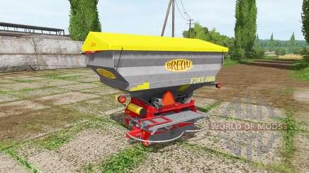BREDAL F2WS 4000 para Farming Simulator 2017