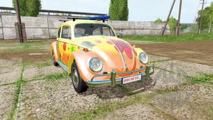 Volkswagen Beetle 1966 peace and love para Farming Simulator 2017