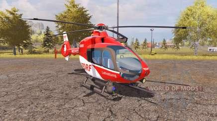 Eurocopter EC135 T2 DRF v2.0 para Farming Simulator 2013
