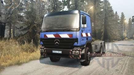 Mercedes-Benz Actros 2646 para Spin Tires