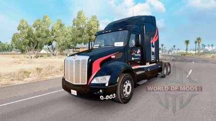 La piel M. y.De Camiones en el camión Peterbilt 579 para American Truck Simulator