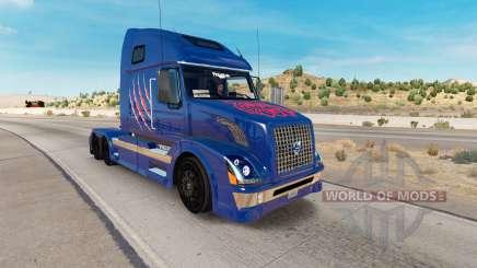 Arizona Wildcats de la piel para camiones Volvo VNL 670 para American Truck Simulator