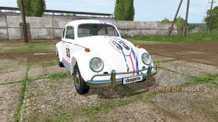 Volkswagen Beetle 1966 v2.0 para Farming Simulator 2017