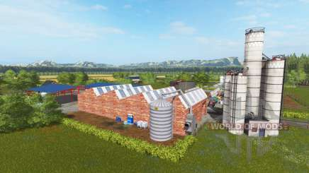 Carnousie farm para Farming Simulator 2017