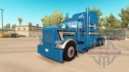 La piel GP 3 Personalizada Peterbilt 389 tractor para American Truck Simulator